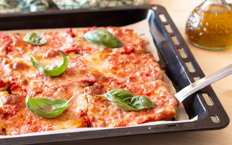 PIZZA FINTA ricetta facile e veloce