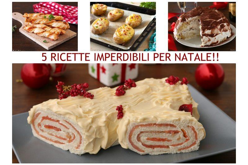 5 RICETTE DI NATALE IMPERDIBILI!!
