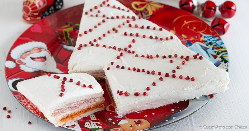 ALBERO DI PANE Antipasto Natale Capodanno