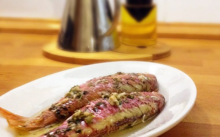 Triglie al forno – Ricetta light