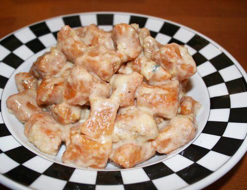 Gnocchi di zucca con salsa al pecorino