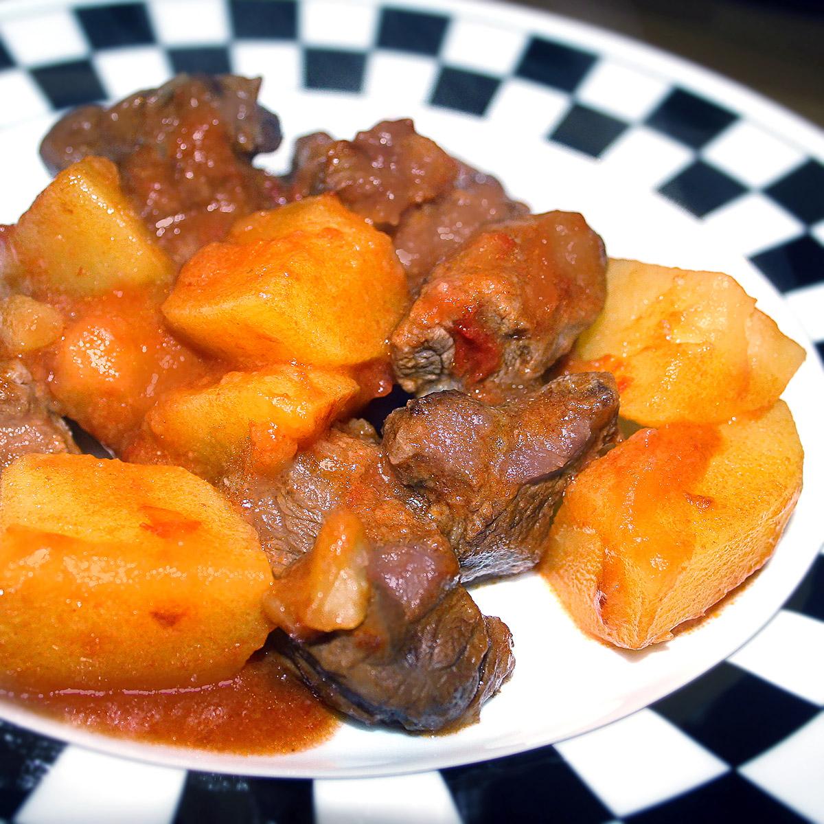 Spezzatino con patate