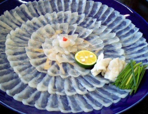 Pesce palla (fugu)… Buono da morire