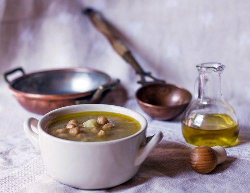 Minestra di ceci e patate – gusto e salute