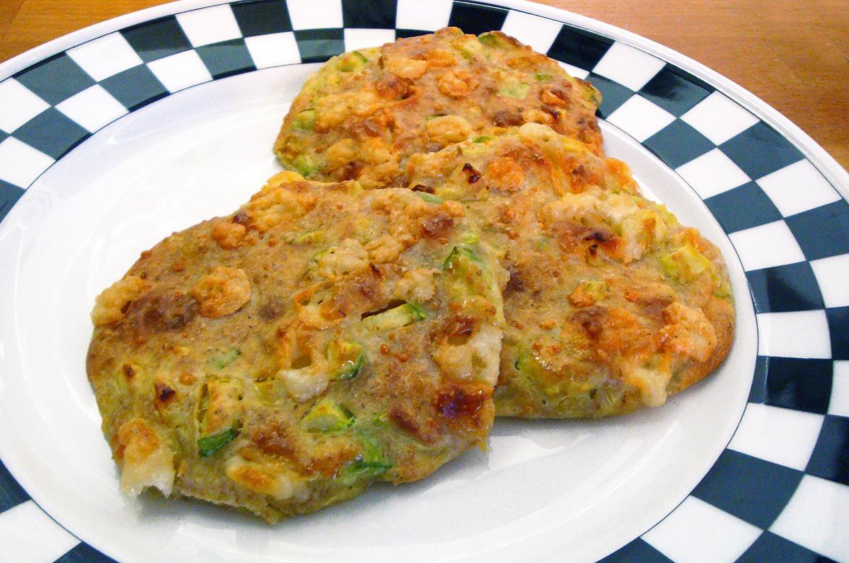 Très Frittelle di zucchine al forno con farina integrale | La cucina di  SI84