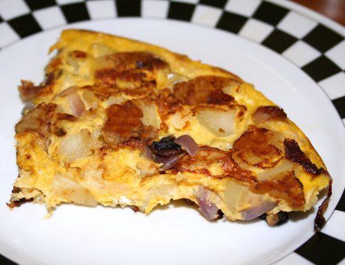 Finta frittata di patate e cipolle