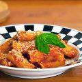 Rigatoni in salsa cruda di pomodoro