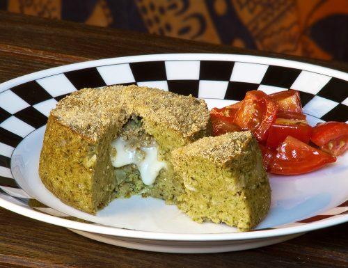 Tortini di broccoli con asiago e noci