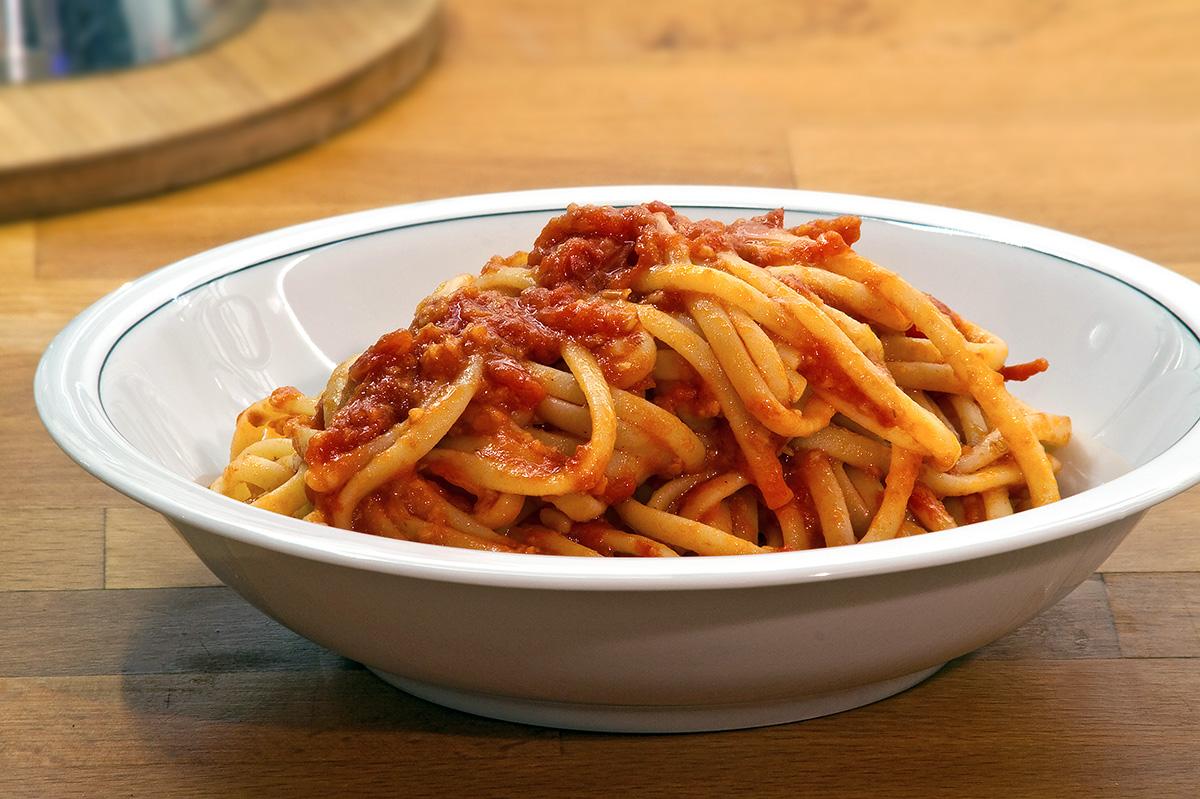 Linguine all'aglione