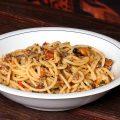Spaghetti cozze vongole e pomodorini