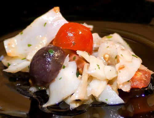 Stoccafisso in insalata
