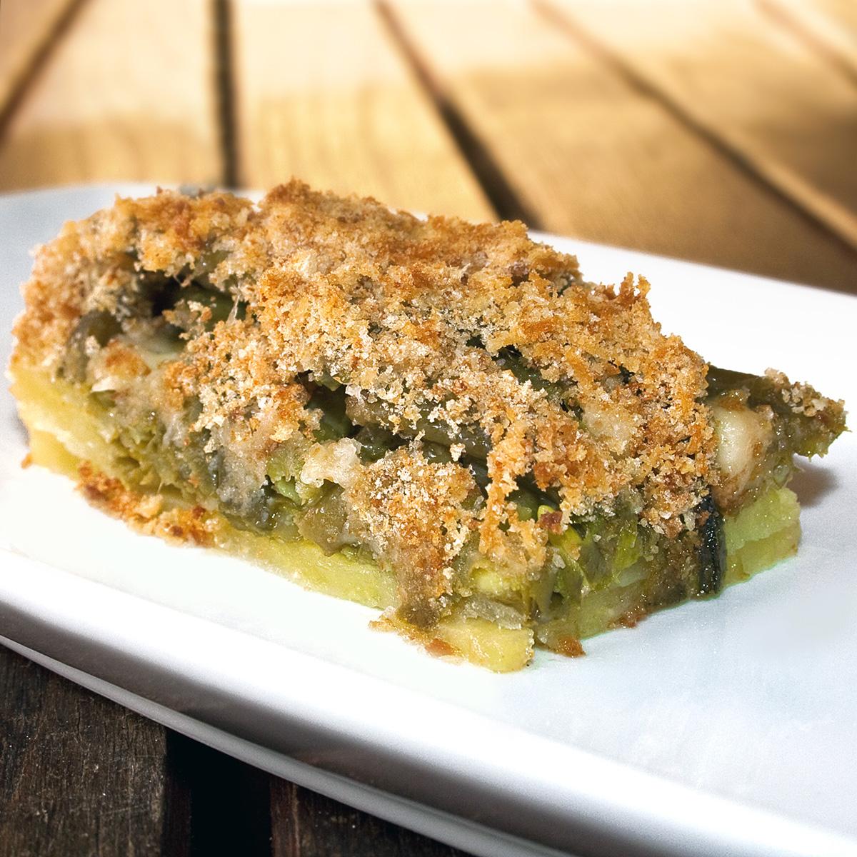 Tortiera di fagiolini e patate | La cucina di Claudio