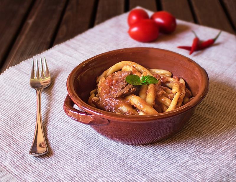 Fileja al ragù - Piatto tipico calabrese