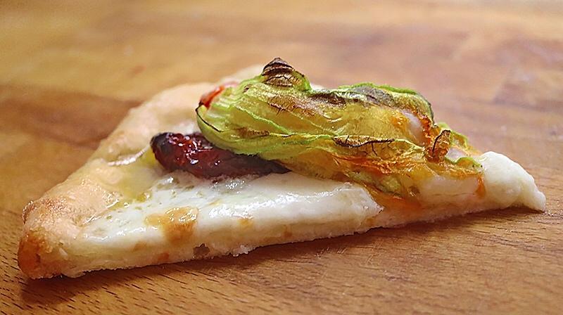 Pizza di terra e di mare