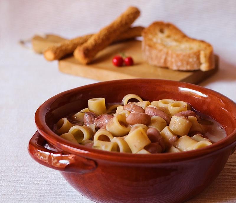 Pasta e fagioli freschi - Ricetta estiva
