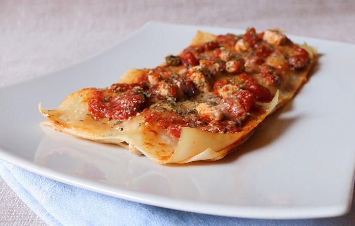 Lasagne al pesce spada