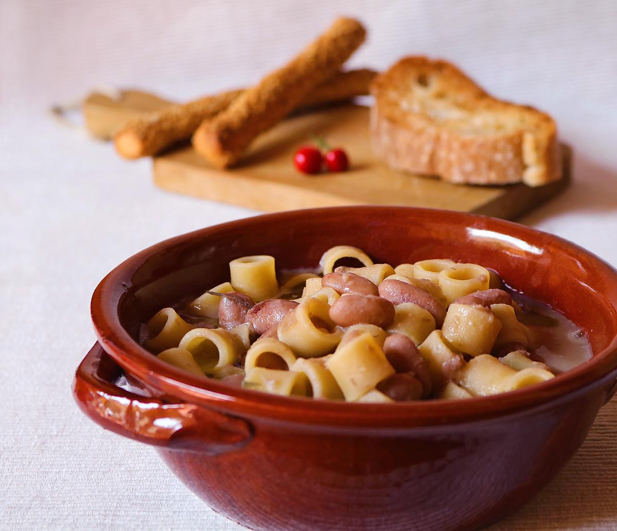 Ricetta pasta fresca e fagioli