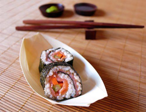 Sushi affumicato