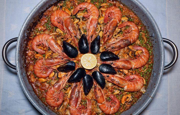 Paella ai frutti di mare – ricetta originale