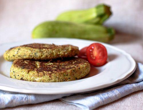Hamburger di zucchine e pecorino