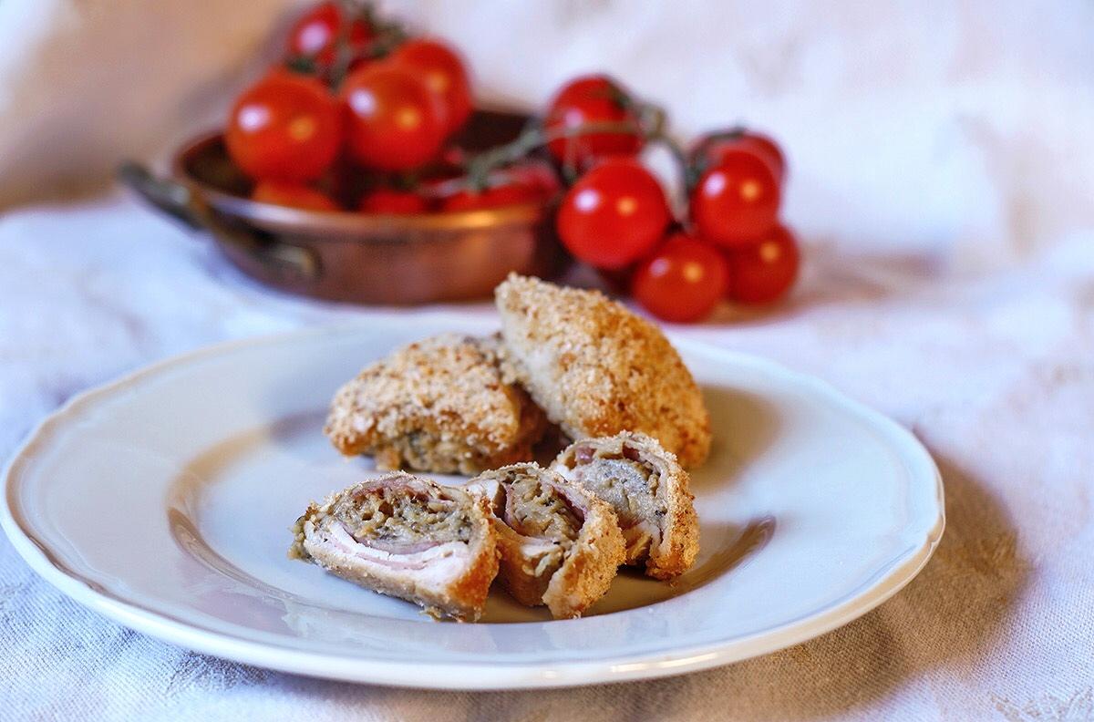 involtini di pollo al forno ripieni