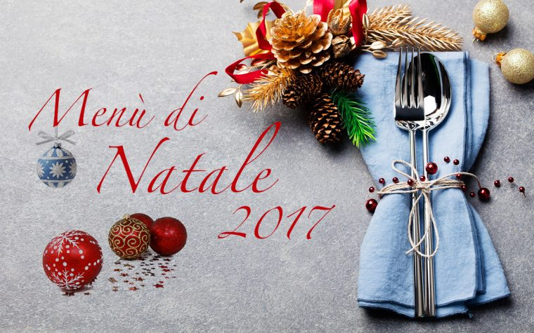 Menù di Natale 2017