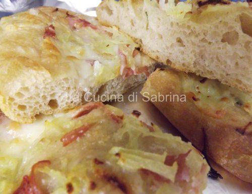 Pizza di patate con lievito madre