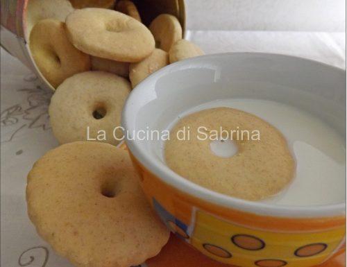 Biscolatte panna e vaniglia senza burro