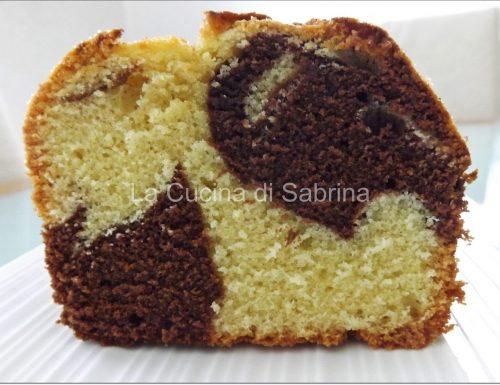 Plum cake ciocco-vaniglia