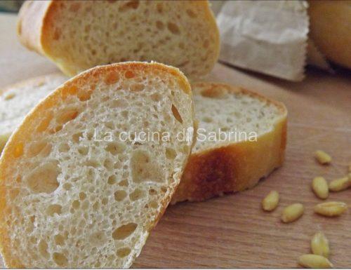 Filone di pane al Kamut a lievitazione naturale