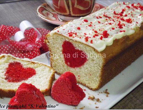 Plumcake dolce cuore … sorpresa per S. Valentino
