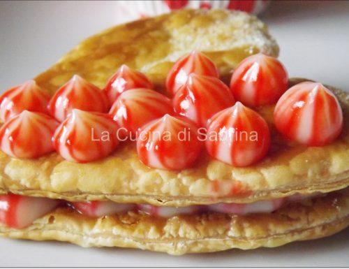 Crema pasticcera variegata
