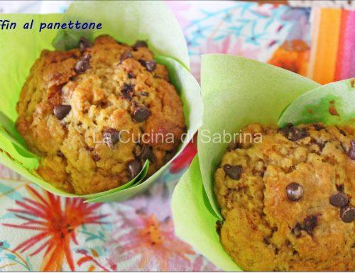 Muffin e bundt cake al panettone …  riciclo