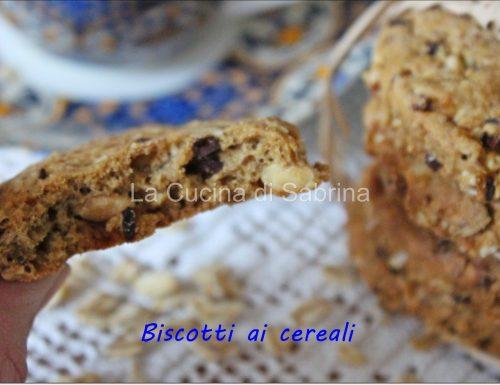 Biscotti da colazione simil grancereali