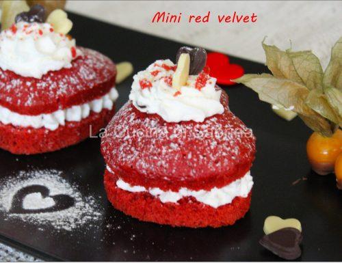 Muffin red velvet  per S. Valentino