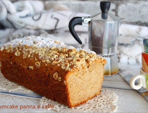 Plumcake panna e caffè (senza burro o olio)