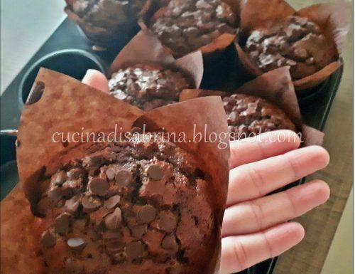 Muffin sogno di cioccolato