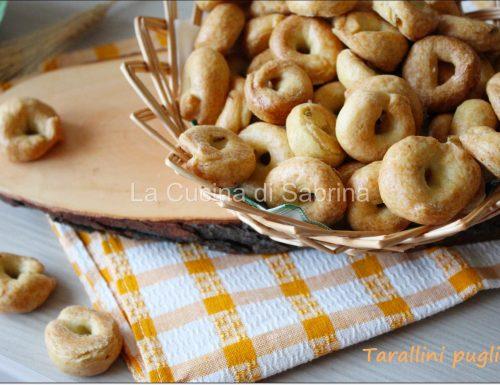 Tarallini pugliesi con semi di finocchio