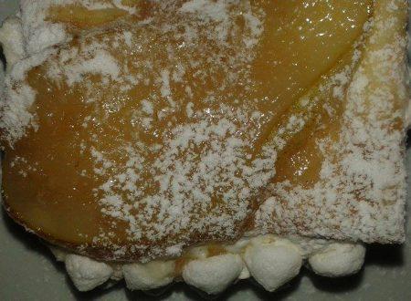 Tortina con Crema Pasticcera e Pera