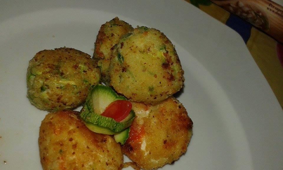 Polpette di patate e ricotta agli ortaggi