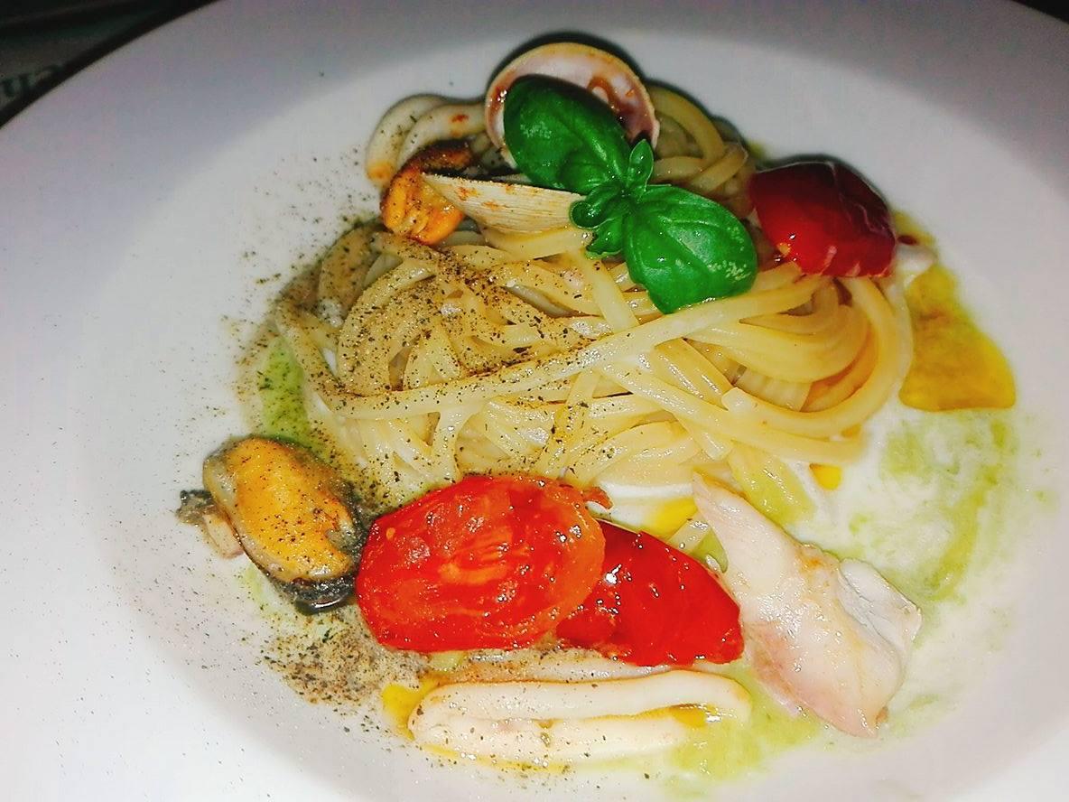 Spaghetti di Gragnano Risottati con Cozze e Vongole
