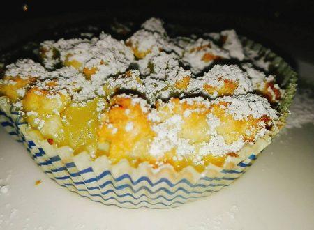 Tortina sbriciolata alle pere