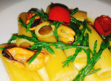 Tortiglioni Salicornia e Cozze ^ _ ^