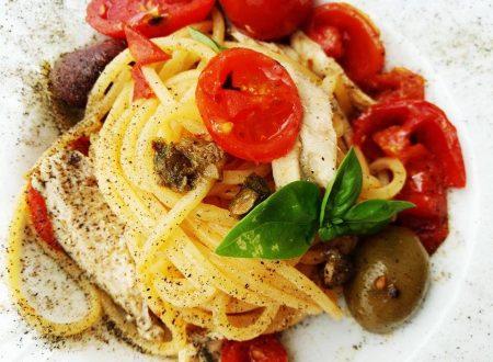 Spaghetti alla Cetarese con colatura di alici