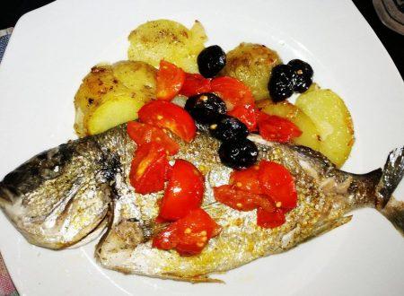 Orata alla Mediterranea con Patate