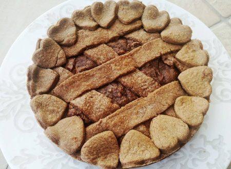 Crostata al Cacao con Crema alla Ricotta e Nutella