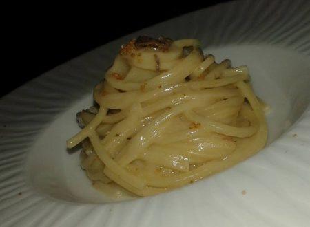 Spaghetti al burro di Alici