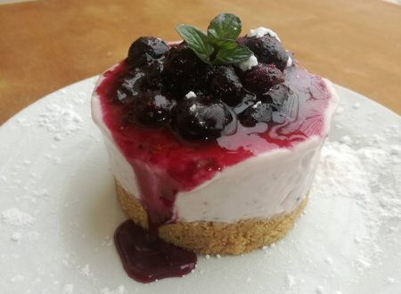 MINI CHEESECAKE AI MIRTILLI