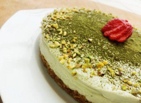 Cheesecake al tè Matcha