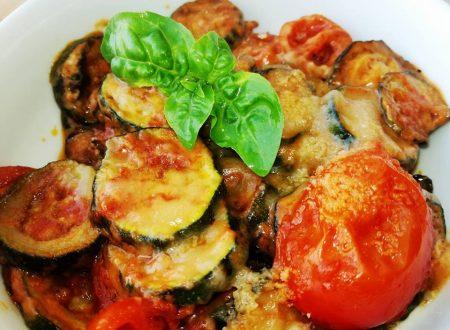 Zucchine e Pomodorini in padella